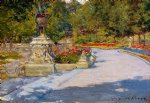 william merritt chase original paintings - prospect park ii by william merritt chase
