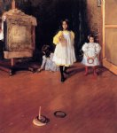 william merritt chase ring toss painting