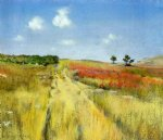 william merritt chase original paintings - shinnecock hills 2 by william merritt chase