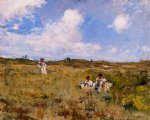 landscape art - shinnecock landscape v by william merritt chase