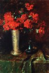flowers posters - still life flowers by william merritt chase