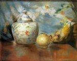 william merritt chase still life with flowers painting