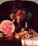 william merritt chase still life with watermelon prints