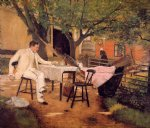 light art - sunlight and shadow by william merritt chase