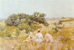 fairy acrylic paintings - the fairy tale by william merritt chase