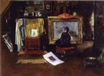 william merritt chase the inner studio tenth street painting