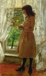 william merritt chase the pet canary painting 22822