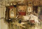 william merritt chase the tenth street studio painting