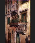 william merritt chase venice print