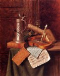 william michael harnett munich still life painting 22527