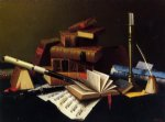 music and literature by william michael harnett famous paintings
