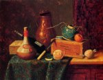 william michael harnett still life iii painting