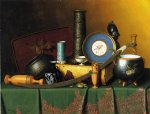 william michael harnett still life with bric painting 22484