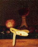 william michael harnett still life with goblet fruit and nuts painting 22492