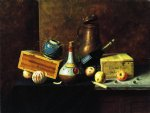 william michael harnett still life painting 22519