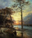 at atlantic city by william trost richards painting