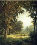 landscape art - idyllic landscape by william trost richards