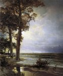 william trost richards original paintings - near atlantic city new jersey by william trost richards
