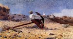 winslow homer boy with anchor painting