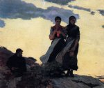 winslow homer early evening painting