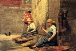 girl art - fishergirls by winslow homer