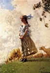 winslow homer fresh air painting