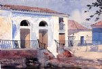house art - house santiago cuba by winslow homer