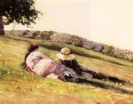 winslow homer on the hill prints