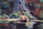winslow homer the red canoe prints