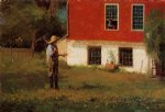 winslow homer the rustics painting