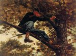 winslow homer the sharpshooter on picket duty painting