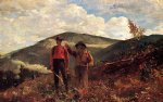 winslow homer the two guides painting