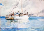 winslow homer watercolor paintings - unknown by winslow homer