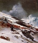 winslow homer winter coast painting 22271